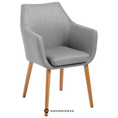 Harmaa-ruskea tuoli nora (actona) (terve näyte)