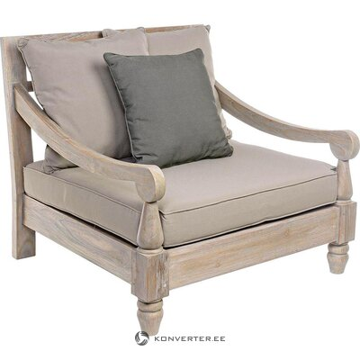 Solid wood garden chair (bali) (whole, in box)