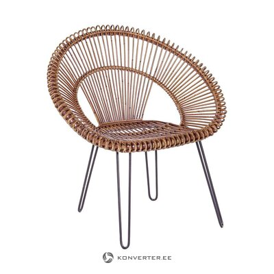 Rattan armchair (bizzotto)