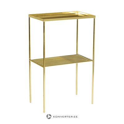 Gold table (bloomingville) (with strong flaws hall sample)