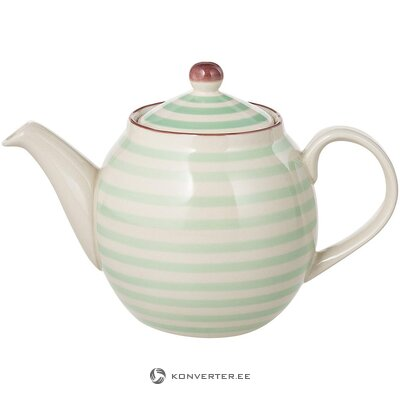 Striped teapot (bloomingville) (whole, in a box)
