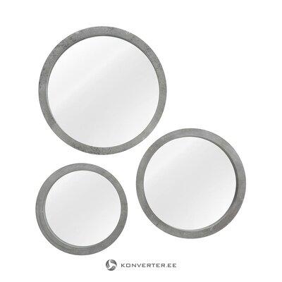 Sieninių veidrodžių rinkinys (3 vnt.) (Varžtas) (visas, salės pavyzdys)