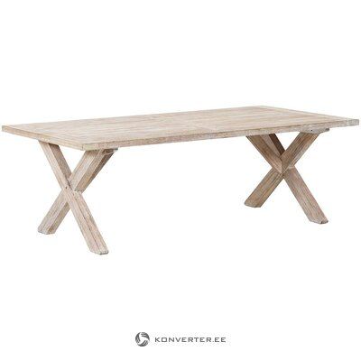 Acacia garden table (brafab) (in box, whole)