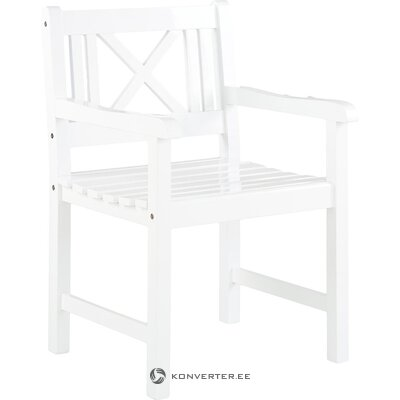 White garden chair (rosenborg) ( hall sample)