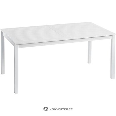 White garden table (cinas) (in box, whole)