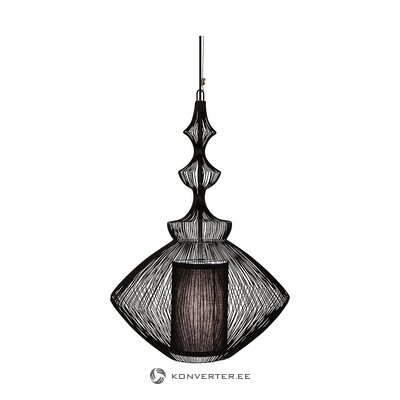 Black pendant light (forestier) (whole, in box)