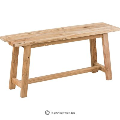 Wooden bench (lawase) (whole, hall sample)