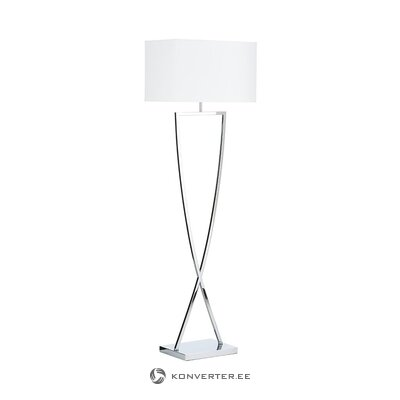 White-silver floor lamp (villeroy & boch) (defective., Hall sample)