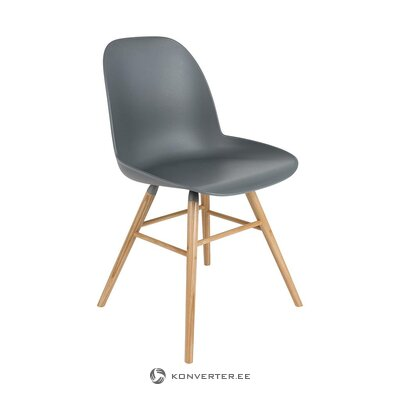 Gray-brown chair (zuiver) (healthy, sample)