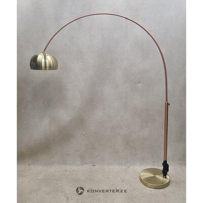 Торшер бронзовый дизайн (зуивер) (цельный ,, образец зала)