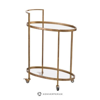 Antique-looking serving trolley (bepurehome)
