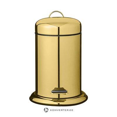 Kullavärvi Väike Prügikast (Bloomingville) (Terve, Karbis)