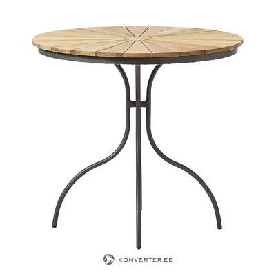 Brown-black garden table (cinas)