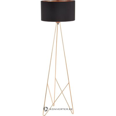 Black-gold floor lamp (eglo) (whole, in a box)
