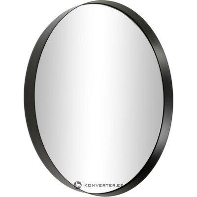 Настенное зеркало в черной раме (коллекция hd) (целиком, в коробке)