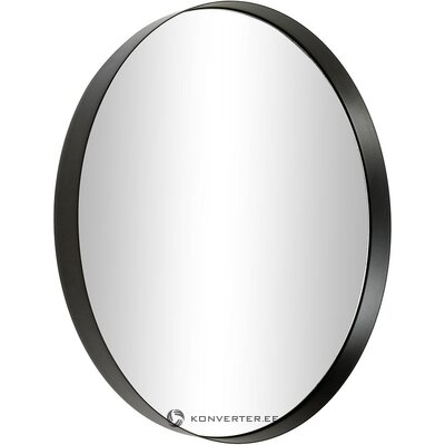 Black frame wall mirror (hd collection) (whole, hall sample)