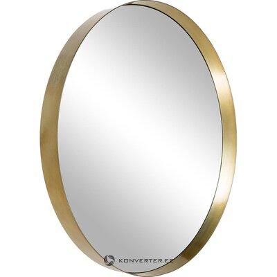 Зеркало настенное в золотой раме (ветровое) (целое, образец холл)