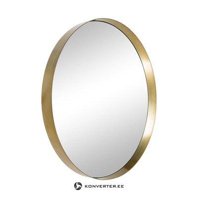 Auksinis rėmuotas sieninis veidrodis (HD kolekcija) (nepažeistas, salės pavyzdys)