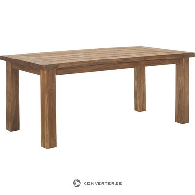 Solid wood dining table (henk schram) (in box, whole)