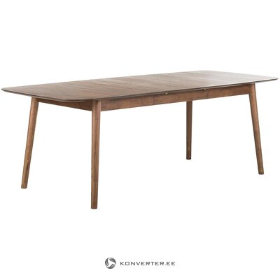 Extendable dining table (interstil dänemark) (with beauty defects., In a box)
