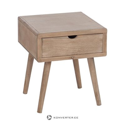 Brown bedside table (j-line)
