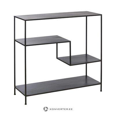 Black metal shelf (j-line)