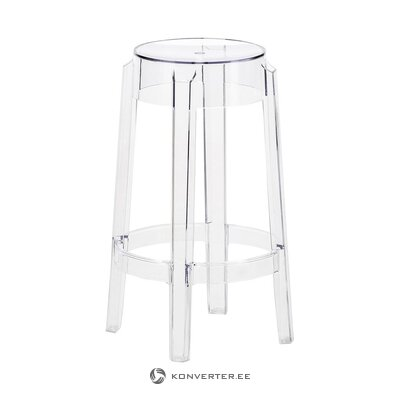 Transparent high design chair (cartel)