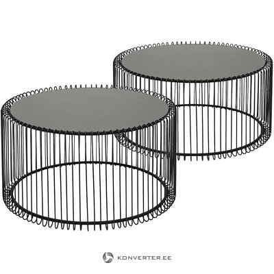 Metal coffee table set (rough design)