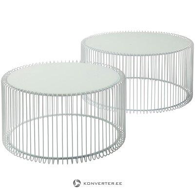 Metal coffee table set (rough design) (hall sample)