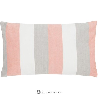 Striped pillow (linen & more) (whole, in box)
