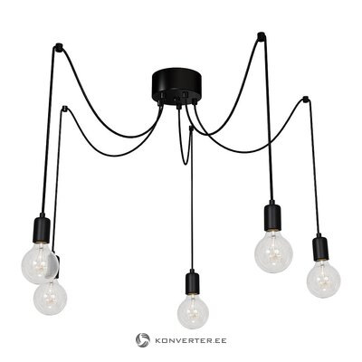 Black pendant light (luminex)