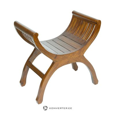 Solid wood design chair (pons) (with defects., Hall sample)