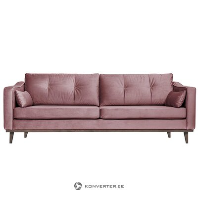 Purple-pink velvet sofa (port reputation)