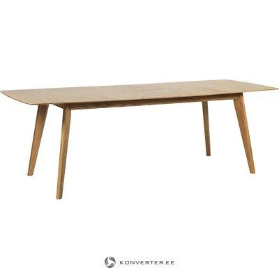 Brūns pagarināms pusdienu galds (rowico) (vesels, kastē)