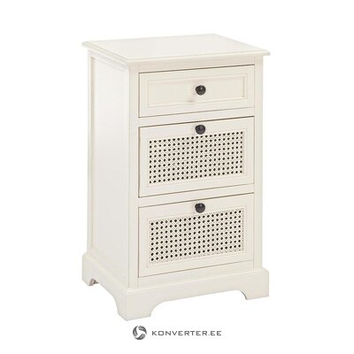 White nightstand (bizzotto)