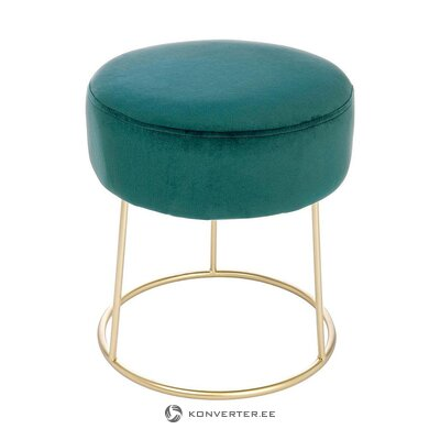 Green-gold velvet chair (bizzotto) (whole, in box)