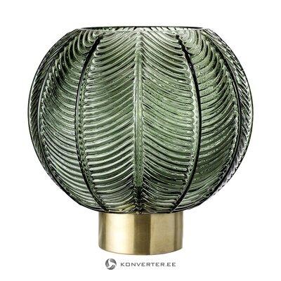 Зелено-золотая ваза для цветов (bloomingville) (целиком, в коробке)