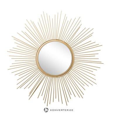 Kultainen muotoilupeili (brooklyn) (salinäyte)