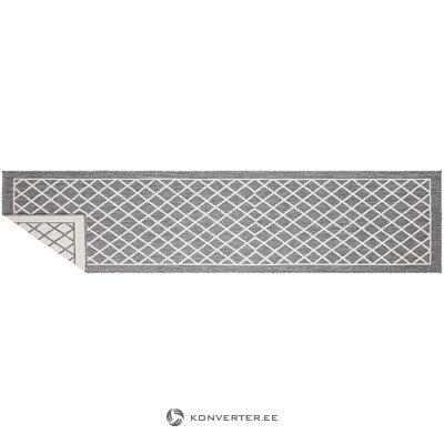 Harmaa-kermainen matto (bougari) (laatikossa, koko)
