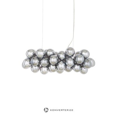 Silver design pendant light (rydens) (whole, in box)