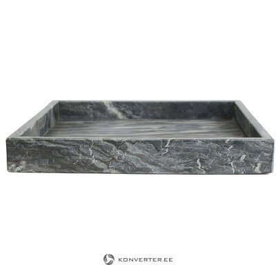 Marble decorative tray (east import) (whole, in box)