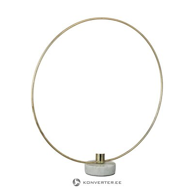 Gold candlestick (hd collection) (whole, hall sample)
