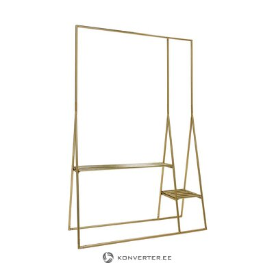 Golden clothes hanger (hkliving) (whole, in a box)