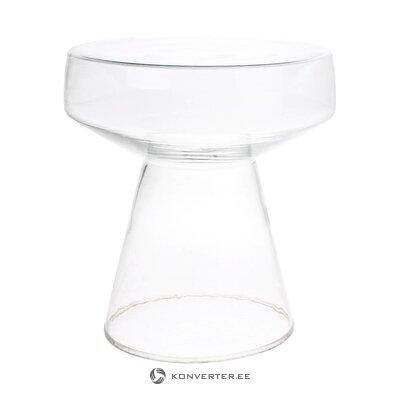 Stikla kafijas galdiņš