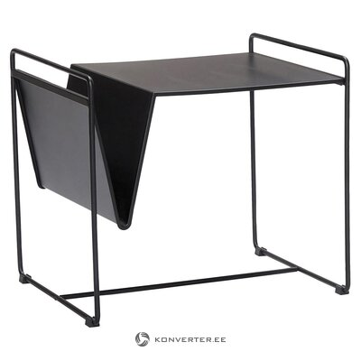 Black coffee table (hübsch) (in box, whole)