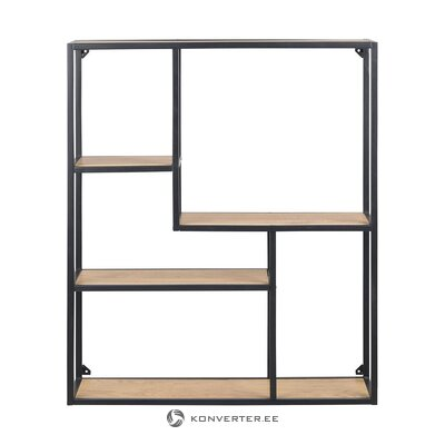 Brown-black wall shelf (actona) (whole, in box)
