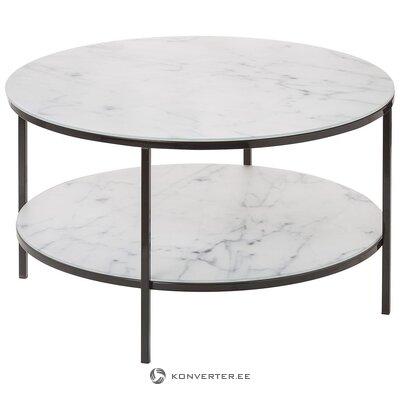 Marble imitation coffee table (actona)