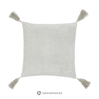 """Pilka dekoratyvinė pagalvė (""""J"""" linija) (visa, dėžutėje)"""