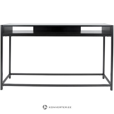 Black console table (leitmotiv) (with beauty defects., Hall sample)