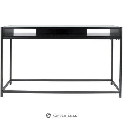 Melns konsoles galds (vadmotīvs) (ar skaistuma defektiem. Hall paraugs)